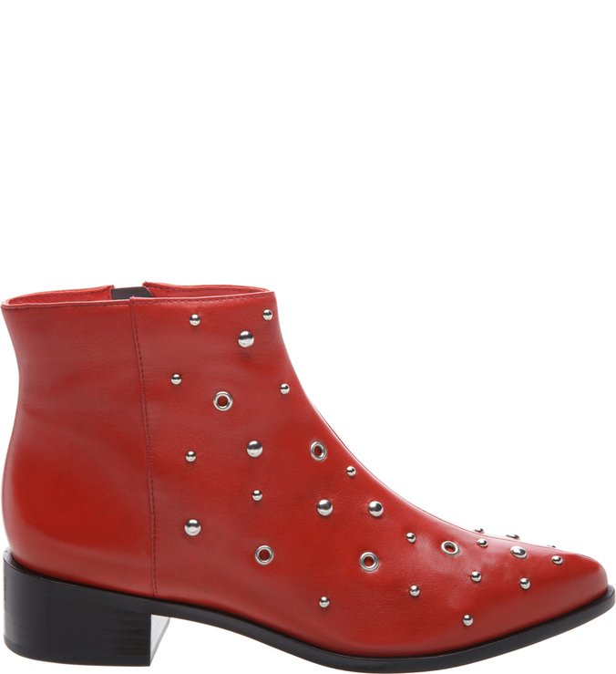 Ankle Boot Metais Royal Red | Arezzo